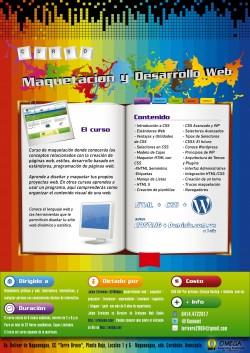 Afiche Maquetacion y Desarrollo Web_HR_Color_RGB