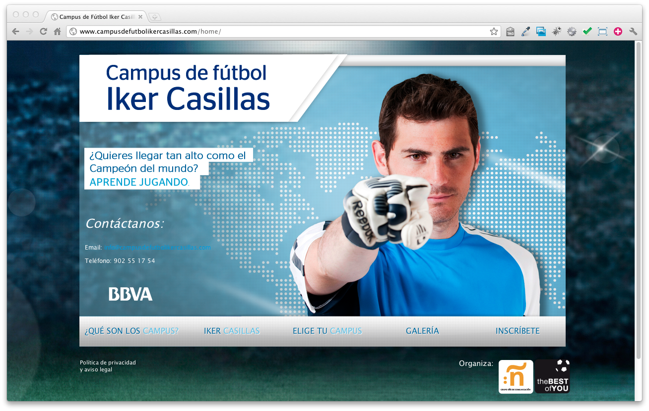 Iker Casillas – Soccer Camp