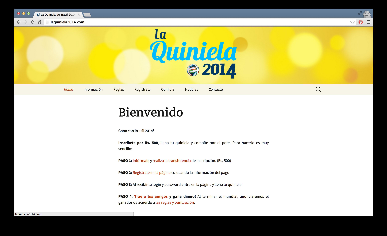 La Quiniela 2014